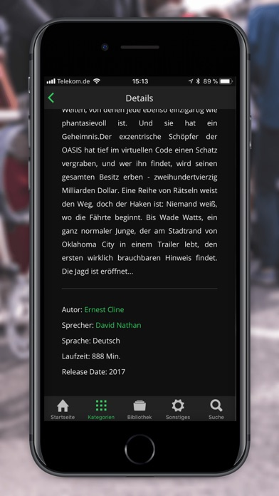 Spooks: Hörbücher & Hörspiele Screenshot