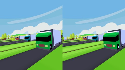 VR Street Jump for Google Cardboard Screenshot