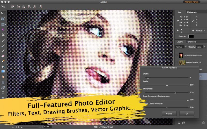 Screenshot Pro Paint - Filter, Image and Photo Editor