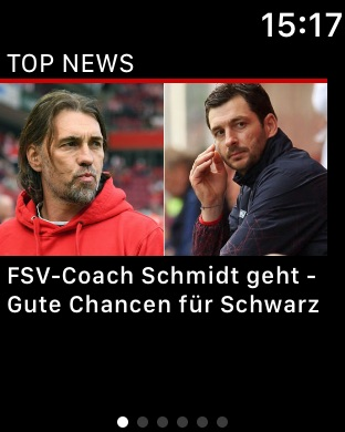 kicker Fußball News Screenshot