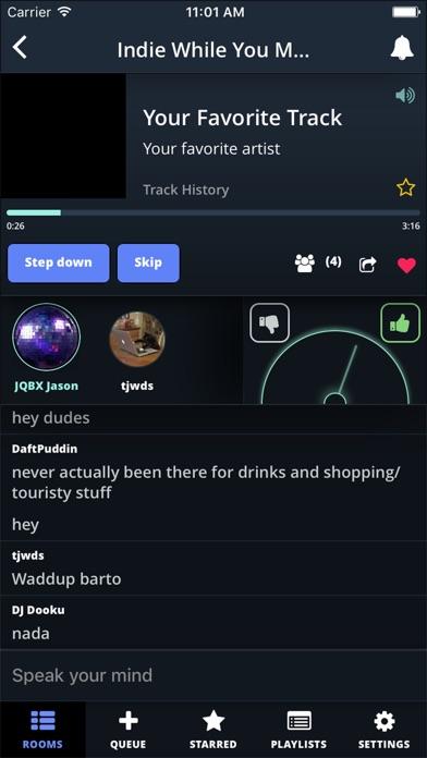 JQBX Screenshot