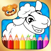 123 Kids Fun COLORING BOOK - Best Educational Draw and Color Games for Toddlers and Preschoolers