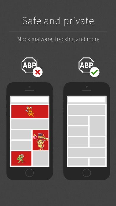 Adblock Plus (ABP): Remove ads, Browse faster without tracking Screenshot