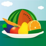 100 Things: Fruits & Vegetables – Picture Book for Toddlers