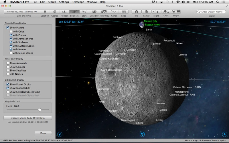 SkySafari 4 Pro Screenshot