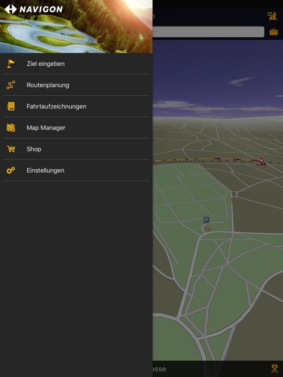 NAVIGON Screenshot