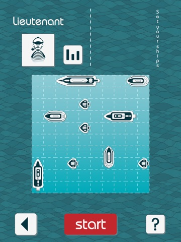 ウルトラマリン - Battleship Online - Board Game Screenshot