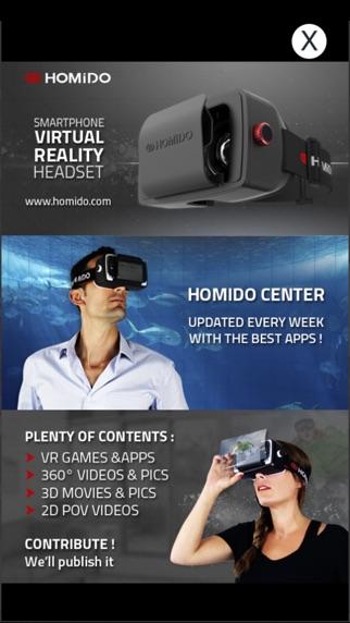 Homido Center Screenshot