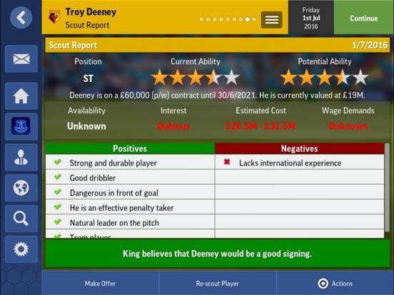 Football Manager Mobile 2017 Screenshot