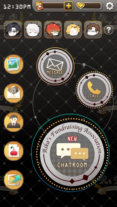 「mystic messenger screenshots」の画像検索結果