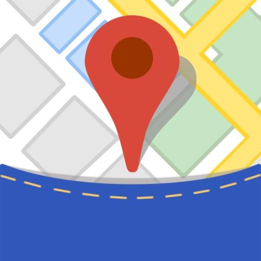 Offline Maps - Googleエディション&ウィキペディアのために