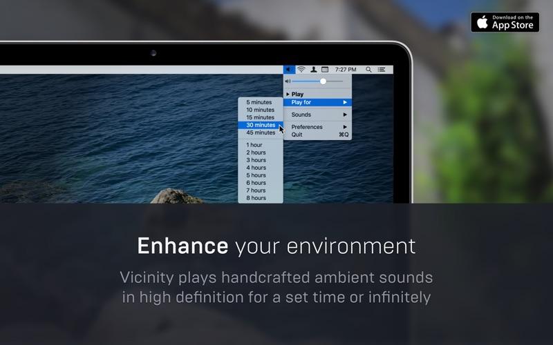 Vicinity Mac 1.1.2 破解版 破解版 - 环境噪音模拟