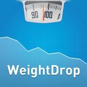 WeightDrop PRO – Gewichtskontrolle & BMI Rechner - Schnell & einfach Abnehmen zum Idealgewicht