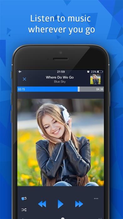 CloudBeats: Cloud Music Player Screenshot