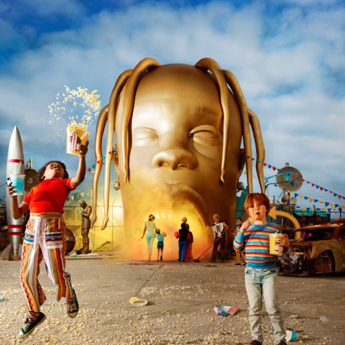 Travis Scott - ASTROWORLD - album cover 2018