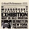 Leonard Bernstein & New York Philharmonic - Mussorgsky: Pictures At an Exhibition & Night On Bald Mountain  artwork