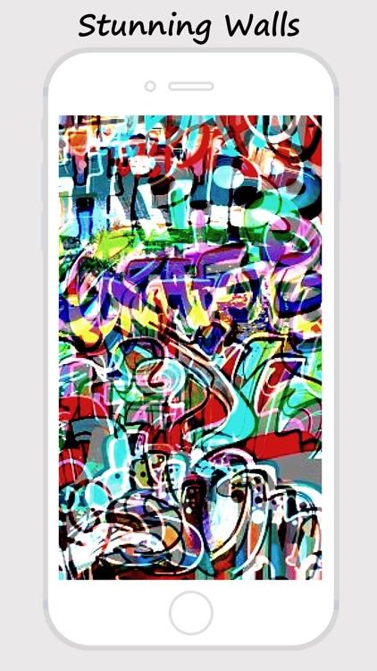 Graffiti Walls -Custom Home/Lock Screen Wallpapers