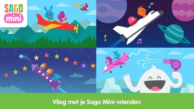Sago Mini Vliegtuigen Screenshot