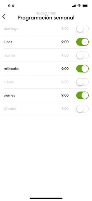 iRobot HOME Screenshot