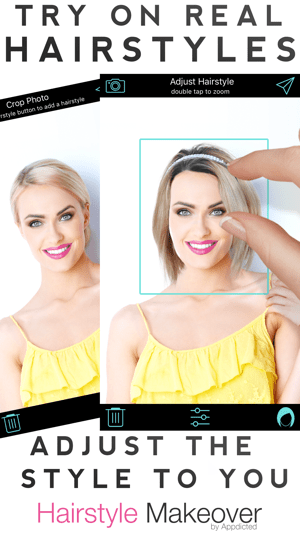 ‎Hairstyle Makeover Screenshot