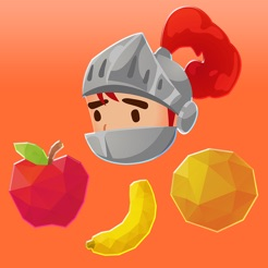 Knight Swipe! - falling fruit match game