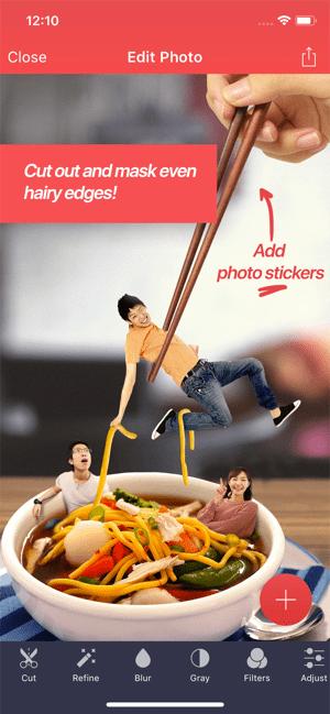 Pixomatic photo editor Screenshot