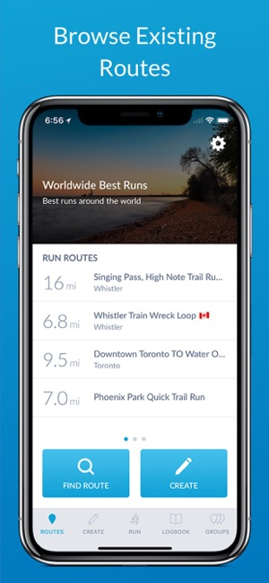 ‎RunGo - The Best Routes to Run Screenshot