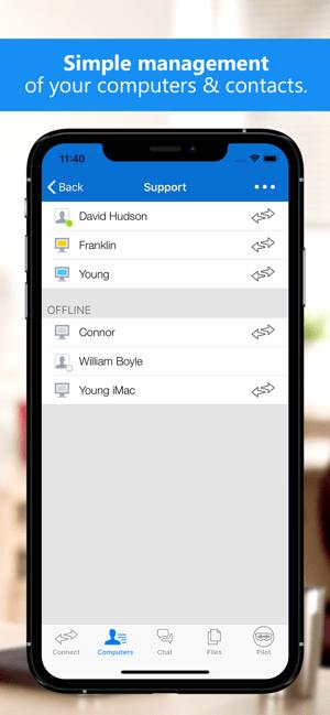 TeamViewer Remote Control Screenshot