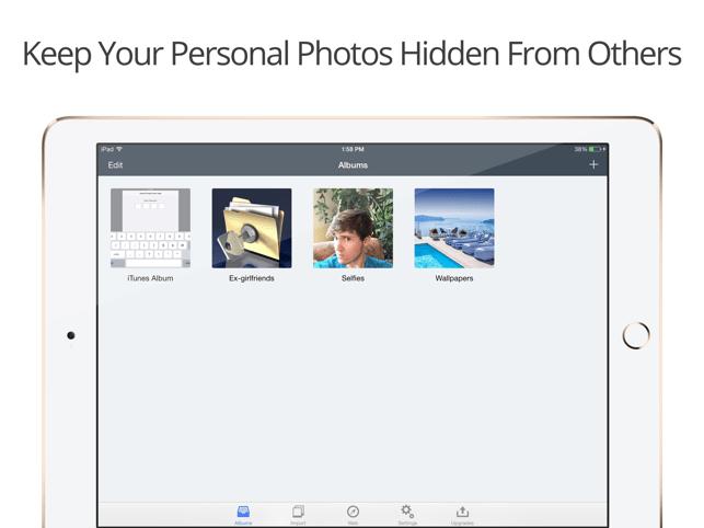 Private Photo Vault - Pic Safe Screenshot