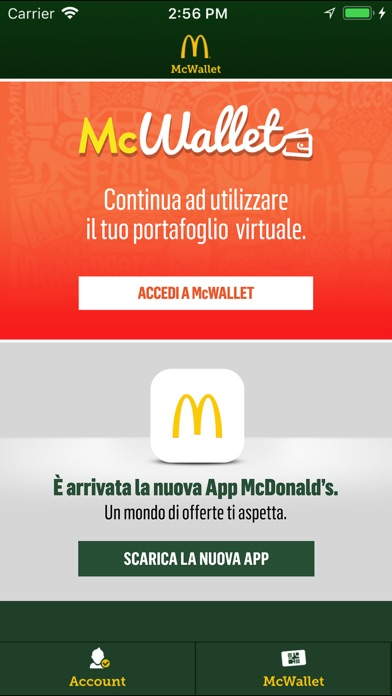 McWallet iPhone