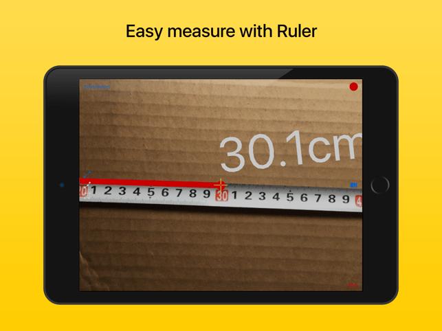 Ruler - tape measure length Screenshot