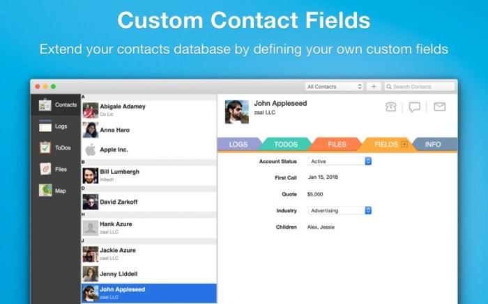 Contacts Journal CRM Screenshot 03 hfiuagn