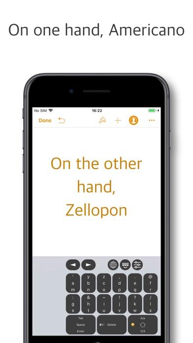zellopon keyboard 1.4.0 IOS