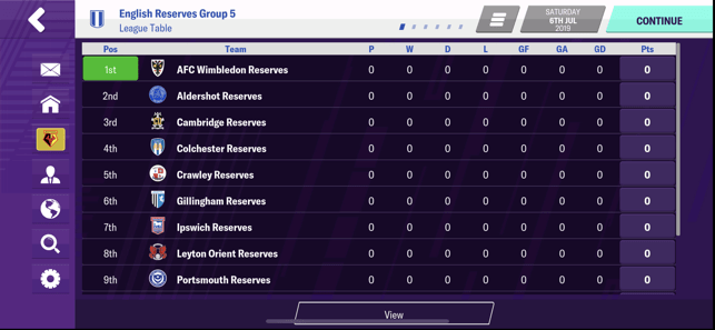 Football Manager 2020 Mobile Screenshot