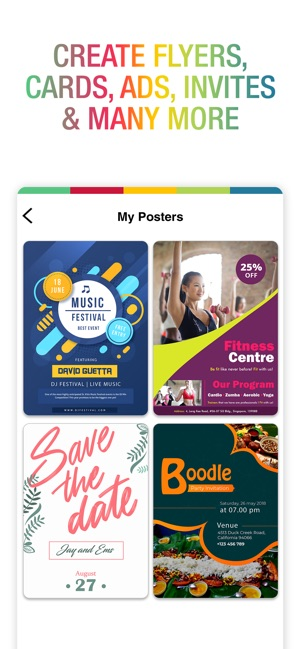 Poster Maker - Flyer Designer Screenshot