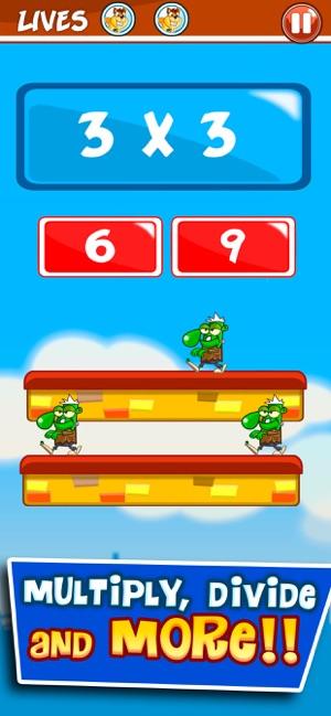 Monster Numbers: Mental Math Screenshot