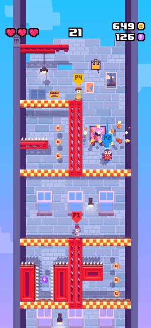 Crossy Road: Башня Screenshot
