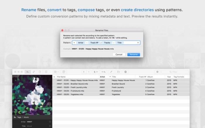 Meta – music tag editor Screenshot 03 o5t568y