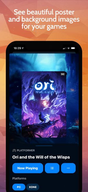 GameTrack Screenshot