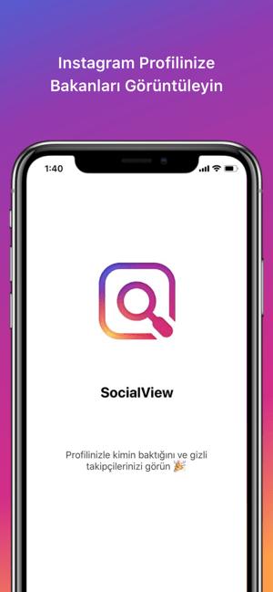 Instagram Profilime Bakanlar Screenshot