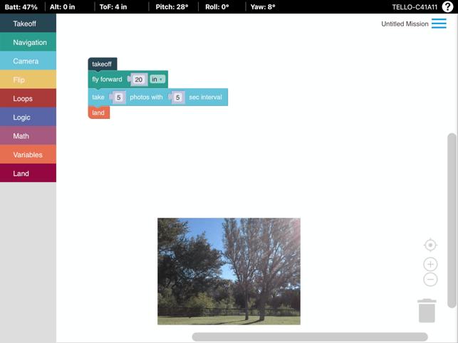 DroneBlocks Capture d'écran