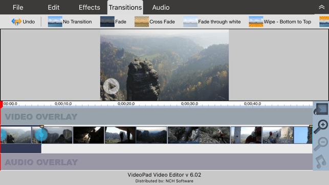 VideoPad - Video Editor Screenshot