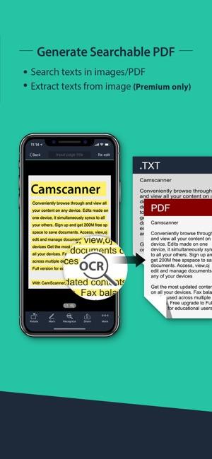 CamScanner   Document Scanner Screenshot