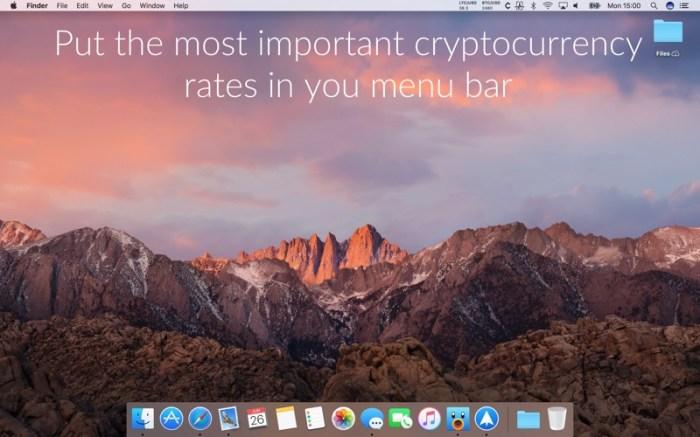 Cryptey: cryptocurrency ticker Screenshot 01 587pltn
