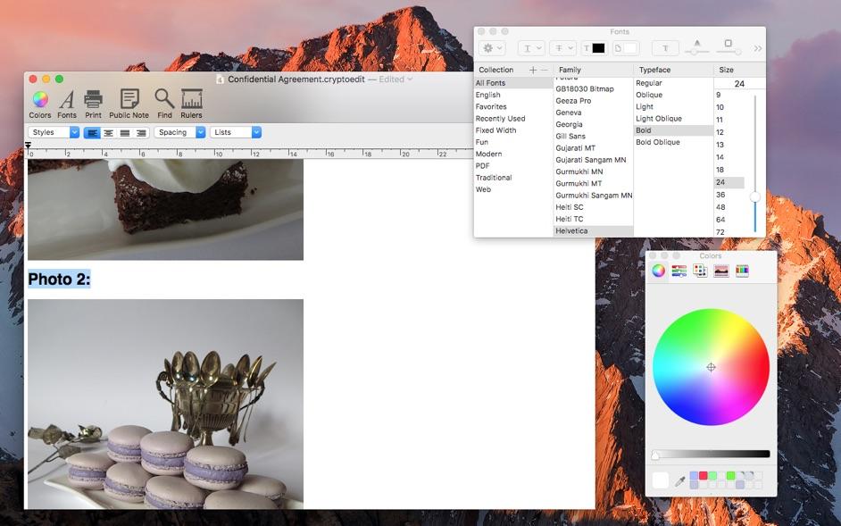 CryptoEdit 2.4 Mac 破解版 - 功能强大且安全的文本编辑器