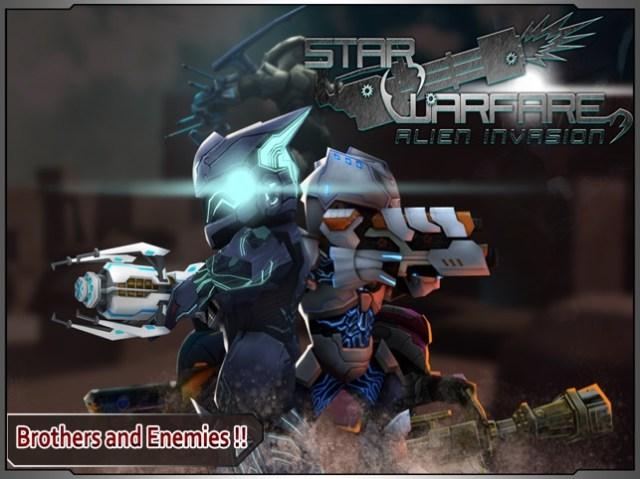Star Warfare:Alien Invasion Screenshot