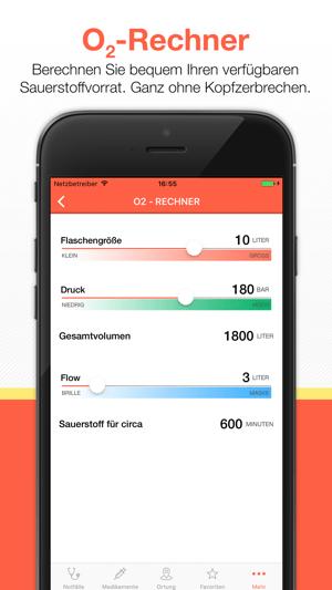 Rettungsdienst App Screenshot
