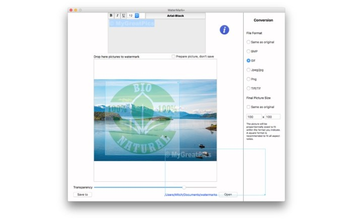 WaterMark+ Screenshot 05 9nluqkn