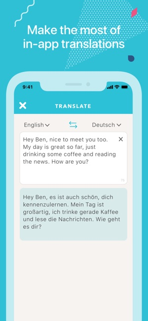 Tandem - Language Exchange Screenshot