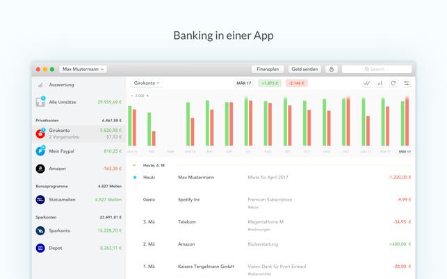 Outbank: Intelligent Banking Screenshot